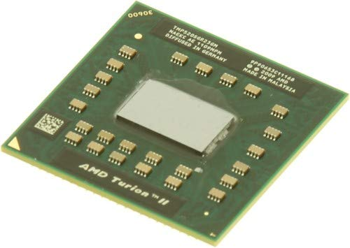 HP 594173-001 AMD Turion II Dual-Core mobile processor P520 - 2.3GHz (2MB Level-2 cache, 25W) - Includes replacement thermal material - For use on 6555b and 6455b models
