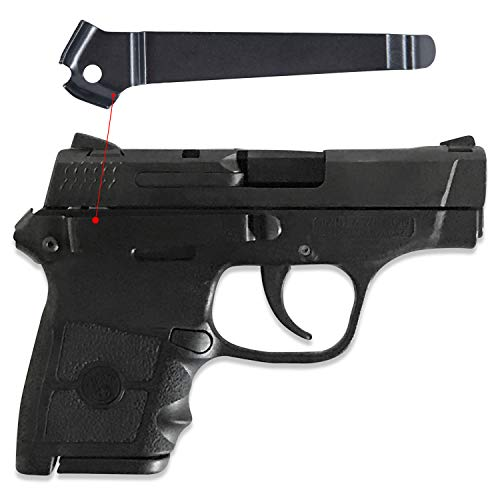 Clipdraw Concealed Carry Gun Belt Clip for Smith & Wesson Bodyguard .380 Black