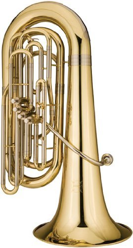 Ravel 4-valve Student Tuba w/ Wheeled Poly Case by Ravel (Image #1)