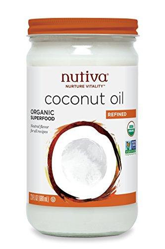 Nutiva Refined Coconut Oil Ounce