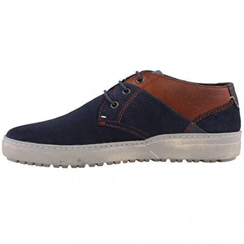 bugatti , Chaussures de ville à lacets pour homme bleu Blau (blue/brown 422)