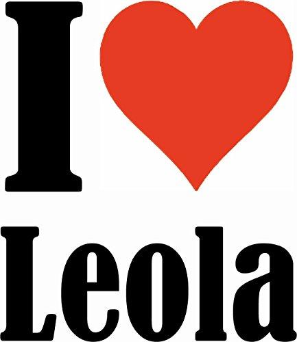 """Handyhülle iPhone 4 / 4S """"I Love Leola"""" Hardcase Schutzhülle Handycover Smart Cover für Apple iPhone … in Weiß … Schlank und schön, das ist unser HardCase. Das Case wird mit einem Klick auf deinem Sma"""