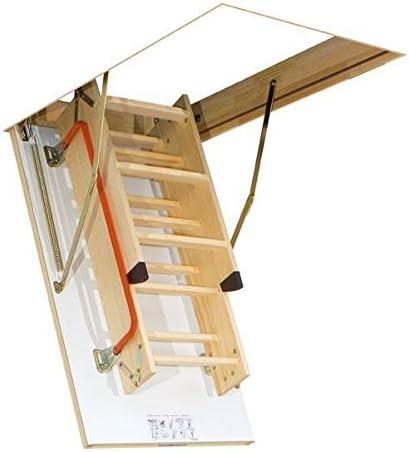 succsale – FAKRO Escaleras, Suelo Escalera, escalera de ático, Buhardilla Escalera, – Escaleras LWK comodidad Plus 55 x 111 x 280 + + + superventas 2017 + + +: Amazon.es: Bricolaje y herramientas