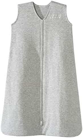 Halo Sleepsack 100% Cotton Wearable Blanket, Heather Gray, X-Large