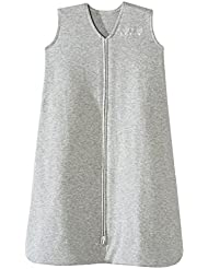 Halo Sleepsack 100% Cotton Wearable Blanket, Heather Gray, X-Large
