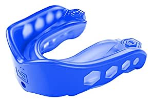 Shock Doctor Gel Max Convertible Mouth Guard, Blue, Youth