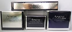 Avon Anew Platinum: Eye & Lip Cream + Day Cream + Night Cream + Instant Definition Treatment Set !