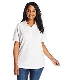 Riders by Lee Indigo Women's Plus-Size Morgan Short Sleeve Polo Shirt
