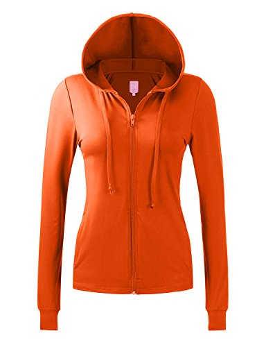 Regna X NO Bother Womens Slim fit Lightweight Yoga Full Zip up Hoodie Jacket