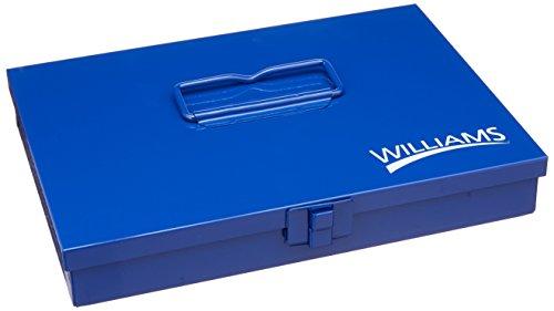 Williams TB-101 10-Inch Metal Socket Set Toolbox