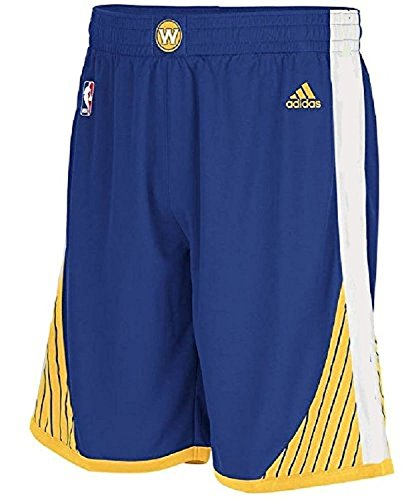 - adidas NBA Golden State Warriors Youth Replica Shorts - Blue Boys 8-20 (Youth Medium 10-12)