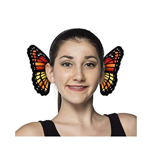 HMS Unisex-Adult's Supersoft Butterfly Headband, Orange, One Size]()