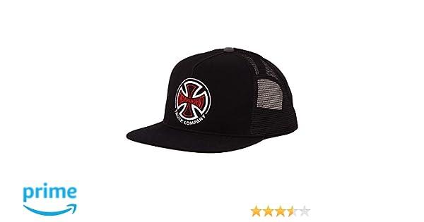 9f9adfeda Independent Trucks 2 Color T/C Men's Snapback Trucker Hat - Black