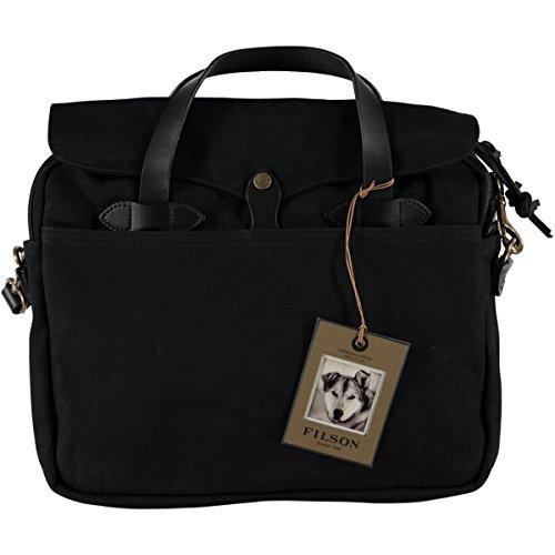 Filson Men's Original Briefcase, Black, One Size