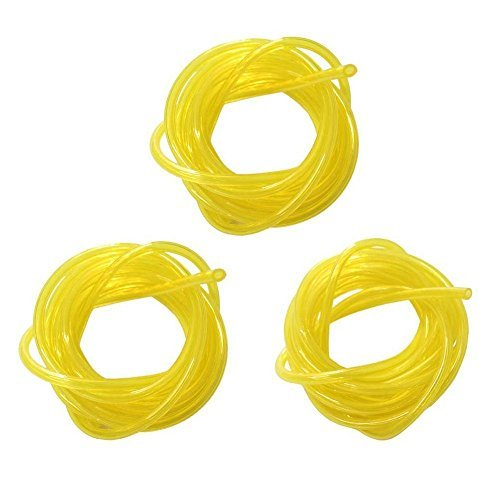"5 feet Replacement Tygon Fuel Line of 3 sizes I.D. 080"" x O.D.140"" I.D. 3/32"" x O.D. 3/16"" I.D. 1/8"" x O.D. 3/16"""
