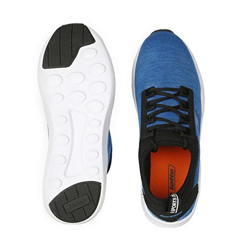 Lotto MenS Amerigo Blue/Black Running Shoes - 9 UK/India