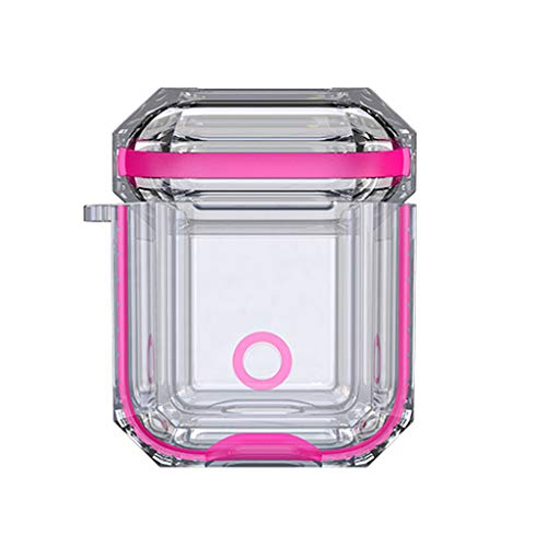 TOTGO Case Compatible with Airpods 1, New Soft Silicone Shock Proof Impact Resistant Elastomers Protective Ultra Lightweight Anti-Scratch Accessories Case Cover for Airpods 1 (Hot ()