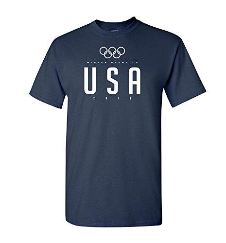 Pink Boss New Team USA Olympic T-Shirt Men Women Shirt Navy - Team Shirts Tee