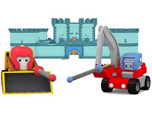 Learn with Tiny Trucks : The Chocolate Factory / The Knight Castle