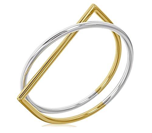 Uncommon Matters Bracelet jonc Plaqué Or Femme