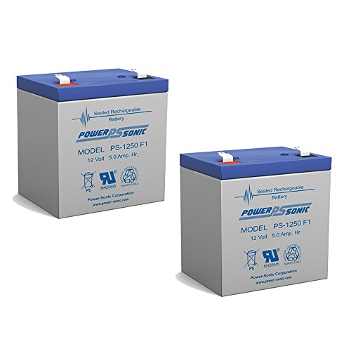 CA1240 12V 4AH FIRST ALERT ADT ALARM BATTERY NEW PS-1250 - 2 (1 12/4 Ah Battery Backup)
