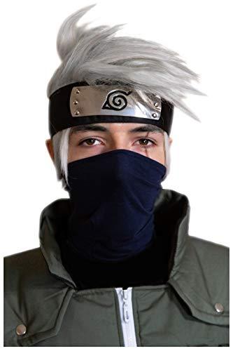 DAZCOS Hatake Kakashi Cosplay Mask Veil (Navy -