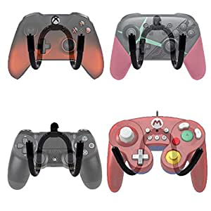 YYST Mini Game Controller Wall Mount Wall Holder -4/PK- No Controller Included - Screw Cover Included