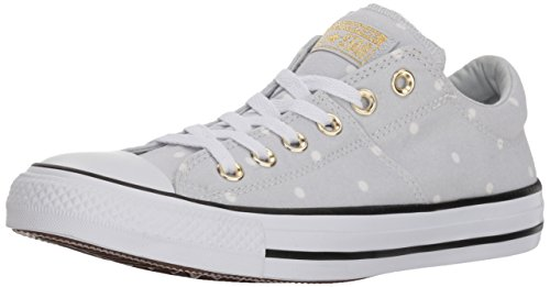 (Converse Women's Madison Mini Dots Low Top Sneaker Pure Platinum/Gold/White 10 M US)