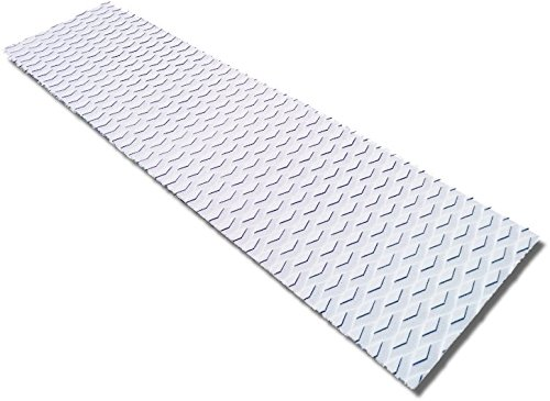 Punt Surf Traction Non-Slip Grip Mat [34 x 9] - Versatile & Trimmable Sheet of EVA Pad with 3M Adhesive. Perfect for Boat Decks, Kayaks, Surfboards, Standup Paddle Boards, Skimboards & More ()