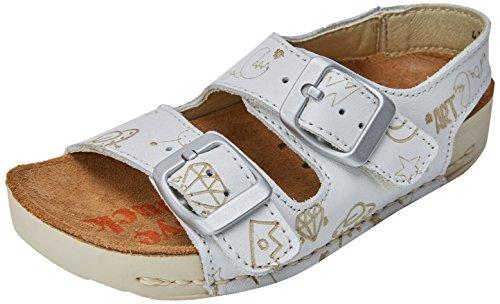 Art Kids Boys' A437s Star White/I Play Open Toe Sandals, Off White (White), 11.5 UK ()