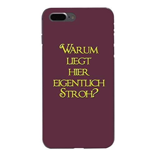 """Disagu Design Case Schutzhülle für Apple iPhone 7 Plus Hülle Cover - Motiv """"Warum liegt..."""""""