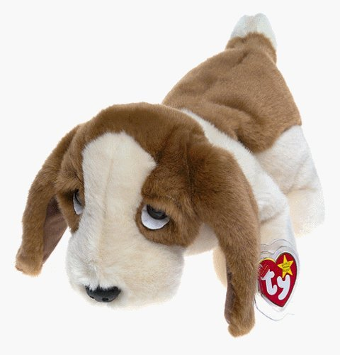TY Beanie Buddy - TRACKER the Basset Hound Dog [Toy] by Beanie Buddies