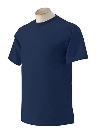 ad36988580e5 Alta Men 039 s Long Sleeve Button Down Source · Amazon com Gildan Ultra  Cotton Pocket T Shirt Navy Blue Clothing