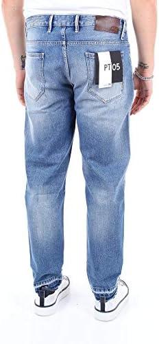 PT05 Luxury Fashion Homme 0A19TJ05D10MINBLUE Bleu Coton Jeans   Saison Outlet