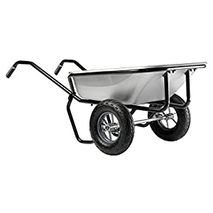 Haemmerli160L Double1 Wheel Barrow-Spoke Wheels