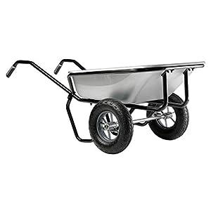 Haemmerli160L Double1 Wheel Barrow-Spoke Wheels