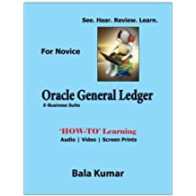 Oracle General Ledger - See - Hear - Review - Learn: How-To Learning - Audio | Video | Screen Prints