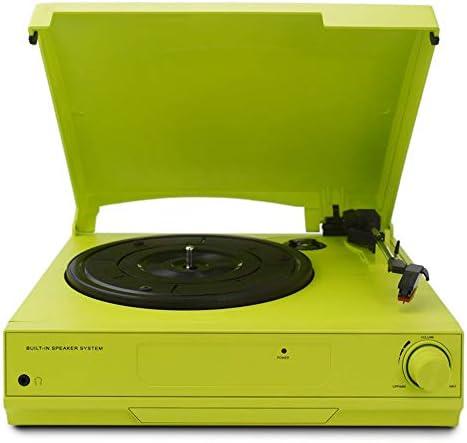 33/45/78 RPM Vinyl LP Record Player Turntable Players Built-
