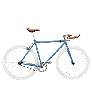 Zycle Fix ZF-MSBL-59 Misty Blue Fixed Gear Bike, 59cm/One Size Frame