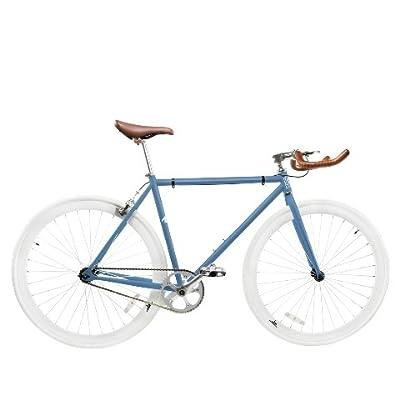 Zycle Fix ZF-MSBL-59 Misty Blue Fixed Gear Bike, 59cm/One Size Frame