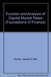 Function and Analysis of Capital Market Rates