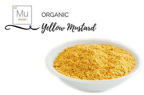 - Organic Herbs & Spices - Individual (Organic Mustard Powder (Yellow) - Ground)