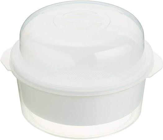 Kitchen Craft - Olla para microondas para cocción al Vapor (3 ...