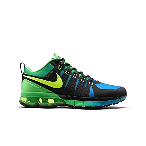 Nike Mens Air Max TR 180 AMP, Black Volt-Blue Lagoon (8)