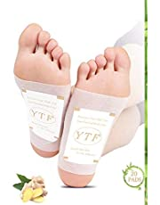 Foot Pads   Ginger Foot Pads for Your Good Feet   Foot and Body Care   Apply, Sleep & Feel Better   All Natural & Premium Ingredients for Best Combination & Results   20 PCS