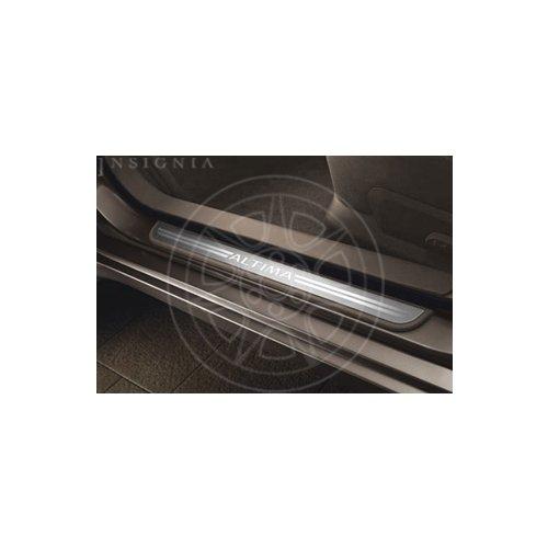 Nissan Altima Beige Aluminum Kick Plates - 999M1-UT000BE