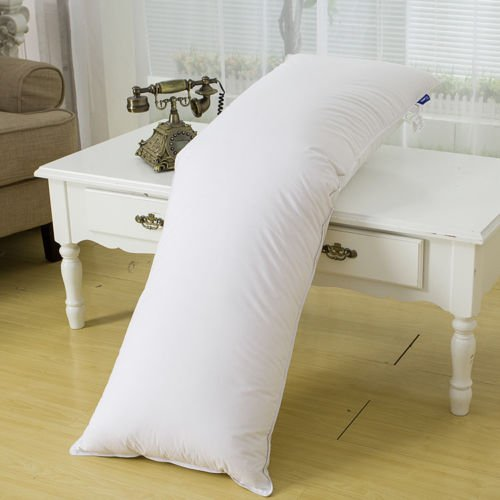 Unite Down Luxury 75% White Goose Down Soft Body Pillow Inse