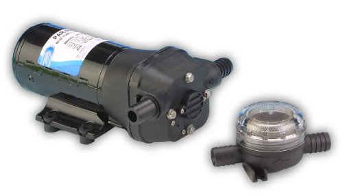 Jabsco 31705-0092 Marine ParMax 4 Bilge and Shower Drain Pump 258 GPH, 12 Volt, 10 Amp