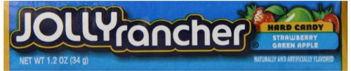Jolly Rancher Hard Candy, Assortment (Strawberry and Gree...