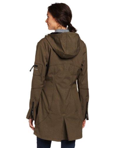 Rain07 Ilse Donna Da Verde 41 Jacobsen army Giacca Impermeabile rr5qfZUnw